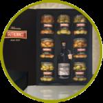Caja selección de productos de alta calidad